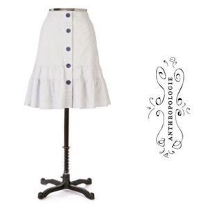 Odille Meandering Skirt *Anthropologie*